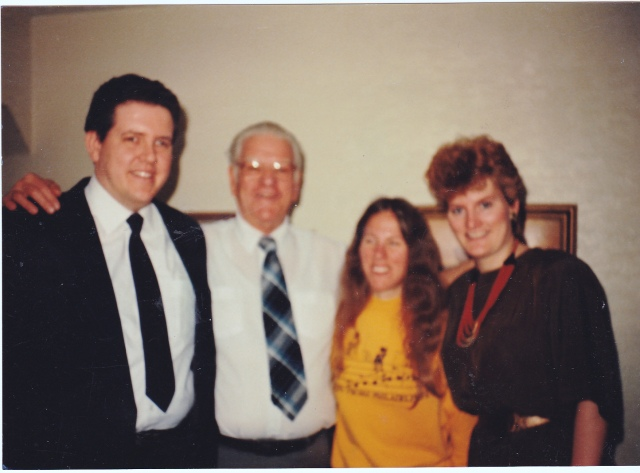 Donald Weiss & His Three Children: Donna, Jeff and Lisa, 1980: photo courtesy of Lisa Weiss Robinson.